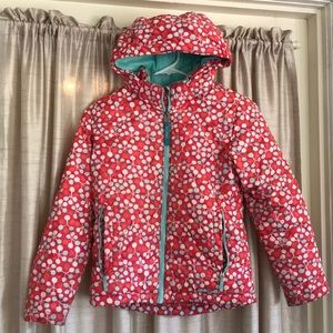 L.L. Bean girls winter jacket size 8